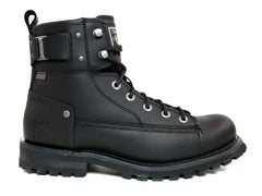 Caterpillar Brent Men's Work and Casual Black Leather Boots