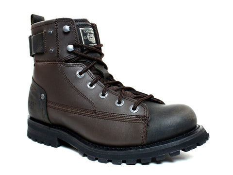 Caterpillar Brent Men's Work and Casual Brown Leather Boots
