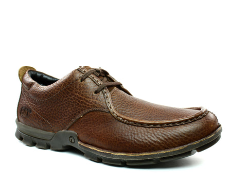 Caterpillar Merton Casual Men's Shoes Brown Leather