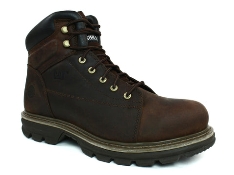 "Caterpillar Valor MR ST 6"" Men's Brown Boots"