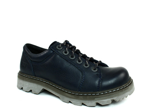 Caterpillar Morgan Oxfords Women's Shoes Navy Leather