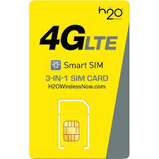 H20 BOLT 3-IN-1 SIM CARD