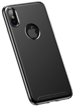 BASEUS - IPHONE X ANTI FINGERPRINT SOFT CASE - BLACK