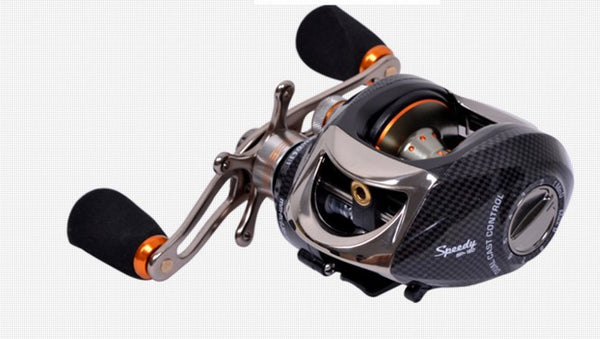 Right Left Hand Bait Casting Reel Fresh Water Anti-backlash, 2 Control Systems