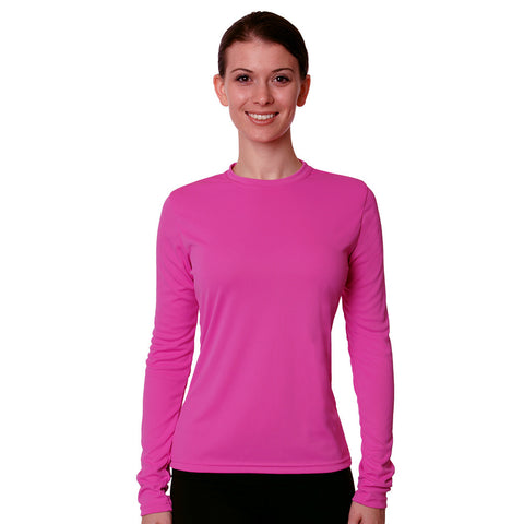 Nozone Womens Versa-T Sun Safe UV Blocking Shirt - Pink