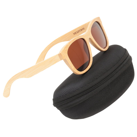 Original Bamboo UV400 Polarized Sunglasses for Adults