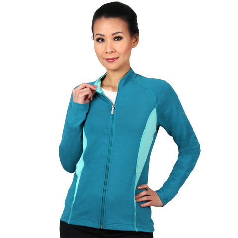 Nozone Sun Safe Full Zip Long Sleeved Women's Shirt UPF 50+