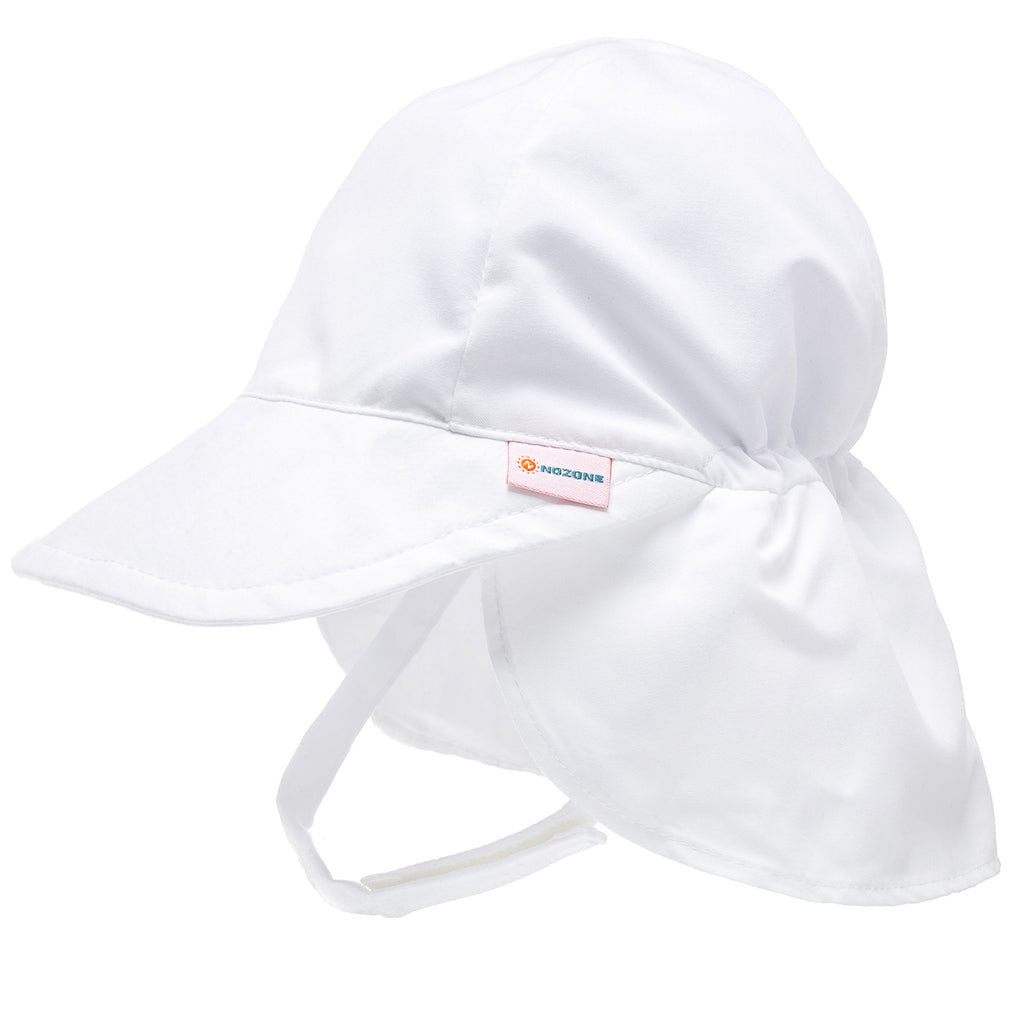 Nozone UPF Protective upf 50 Flap Baby Sun Hat breathable lightweight