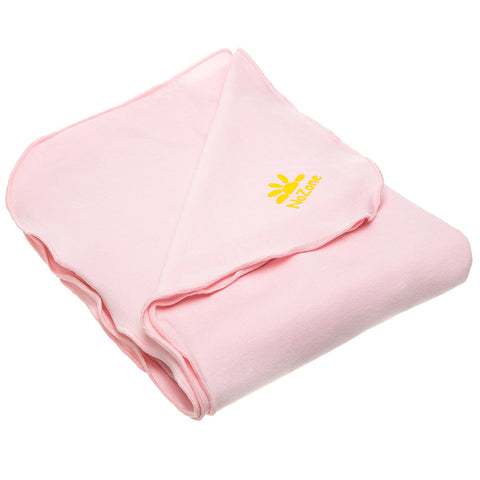 Nozone Baby Blanket Sun protective upf 50+ baby bamboo lightweight gender neutral soft pink
