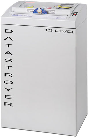 Datastroyer 103-DVD High Security DVD and CD Shredder from Whitaker Brothers - Whitaker Brothers