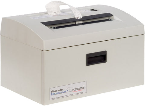 Datastroyer KTS-200 High Security Key Tape Shredder from Whitaker Brothers (DISCONTINUED) - Whitaker Brothers