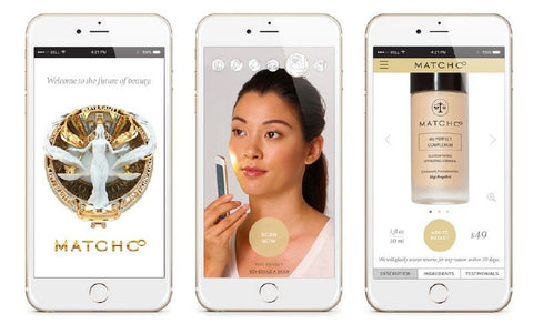 MatchCo's app blends a custom foundation color via a few simple iPhone scans.