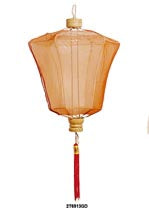 Large Plain Pointy Chinese Lantern