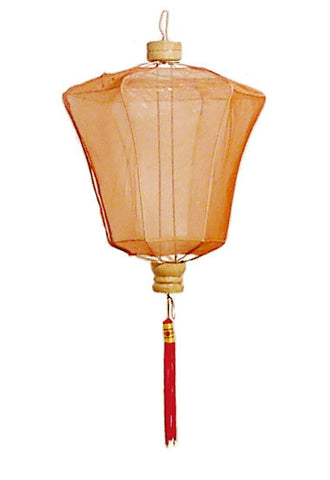 Small Plain Pointy Chinese Lantern