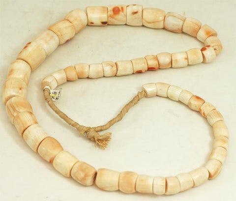 African Pink Conch Hell Bead Strand BA-S02M