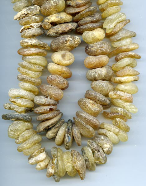 Natural African Sea Amber Bead Strand BASA40