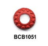 Carve Ring Cinnabar Bead BCB1051