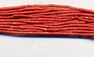 Coral Bead Strand BCR413