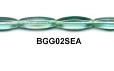 Czech Hexagonal Glass Bead Strand - Sea Foam