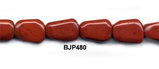 Red Jasper Pebble Beads BJP480