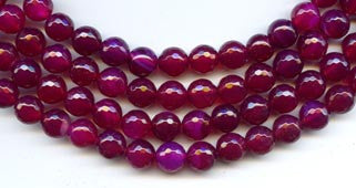 8mm Ruby Agate
