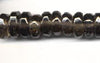 Smokey Quartz Faceted Rondell Bead Strand BQMD06