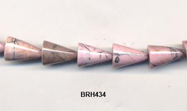 Rhondenite Cone Beads BRH434