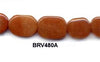 Red Aventurine Pebble Beads BRV480A