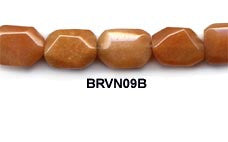 Red Aventurine Nugget Beads BRVFN09B