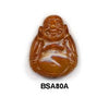 Orange Soo Chow Buddha Bead BSA80A