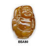 Orange Soo Chow Buddha Bead BSA80