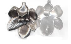 Thai Hill Tribe Silver Flower Pendant BST765S