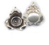 Thai Hill Tribe Silver Flower Pendant BST7674