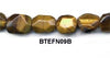 Tiger Eye Nugget Beads BTEFN09B