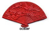 Fan Cinnabar Bead DCB38 - 3 Colors