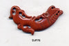 Stone Crescent Red Jasper Dragon Pendant Bead DJP76