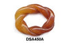 Brown Jade Small Oval Rope Pendant Bead DSA450A