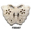 Butterfly Bone Pendant Bead
