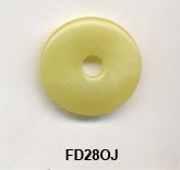 Pi Disc 28mm Olive Jade