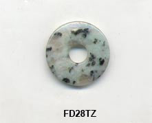 Pi Disc 28mm Tien Zhan Blue