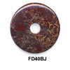 Pi Disc 40mm Breciated Jasper