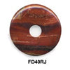 Pi Disc 40mm Rainbow Jasper