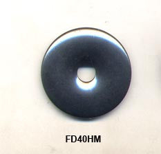 Pi Disc 40mm Hematite