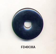 Pi Disc 40mm Black Onyx