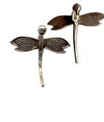 Thai Hill Tribe Silver Dragonfly Pendant FST725M