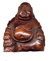 Ma-Li Wood Sitting Buddha Bead FWD36