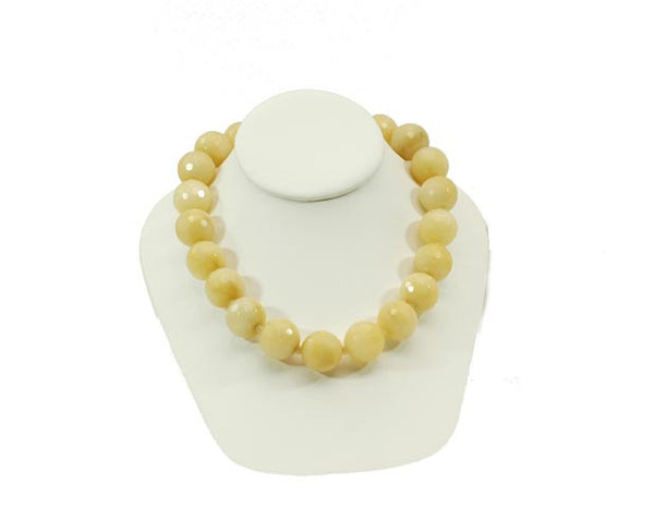 Yellow Ambronite Necklace