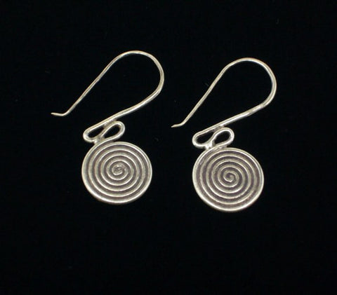 Thai Hill Tribe Silver Earrings #4
