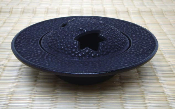 Japanese Cast Iron Cone Incense Holder