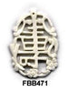 Longevity Bone Pendant Bead